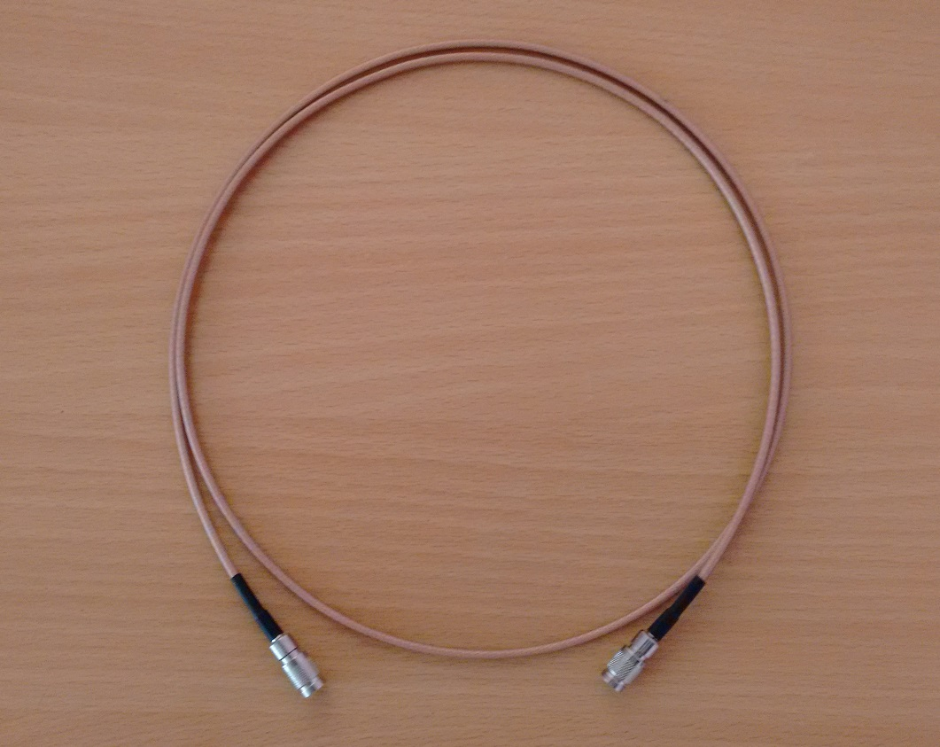 1.0/2.3 DIN TO 1.0/2.3 DIN  with RG179 Cable