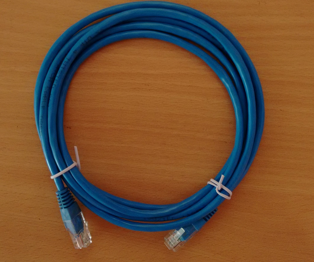 Cat 5, Cat 5e, Cat 6  Ethernet  Straight