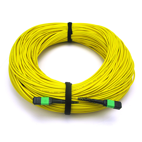 MPO-MPO Fiber Optic Cable 12 Fibers