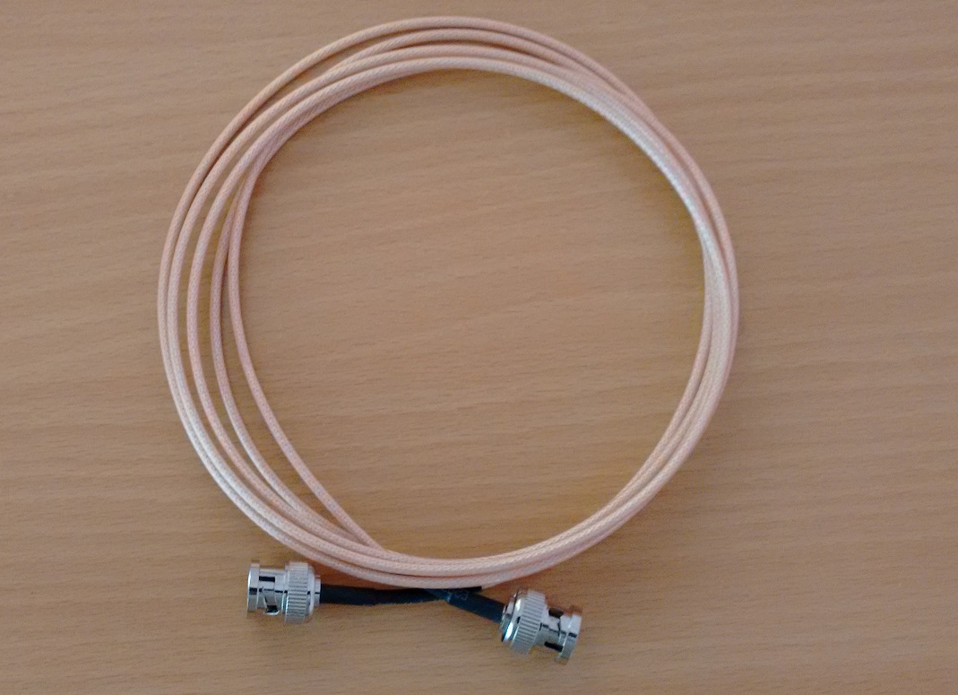 BNC  to BNC with RG 316 Cable