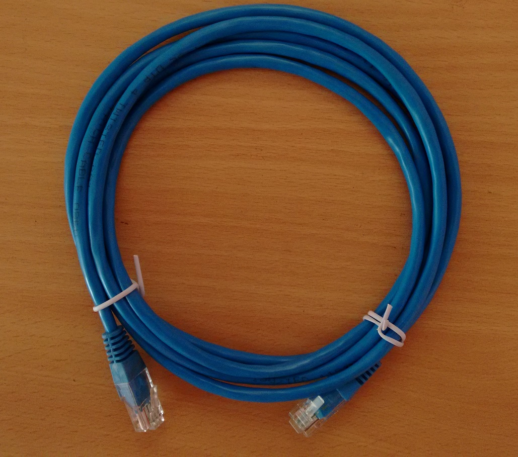 CAT 5, CAT 5E, CAT 6 ETHERNET CROSSOVER CABLES
